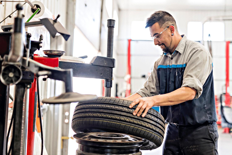 Reifenservice_Reifenwuchten